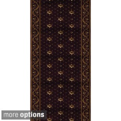 Rivington Rockwall Shiraz Runner Rug