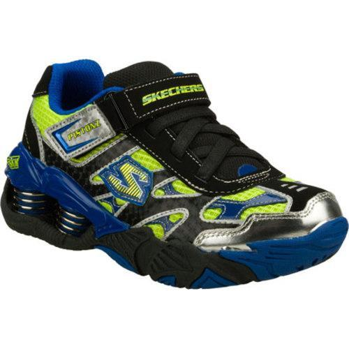 Boys' Skechers Mega Flex Pistonz Black/Blue