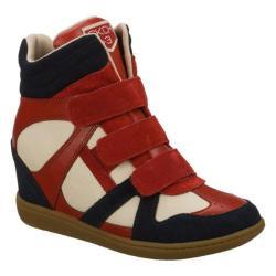 Women's Skechers SKCH Plus 3 Raise Your Glass Navy/Red