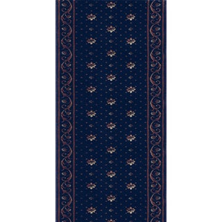 Rivington Rockwall Boysenberry Runner Rug