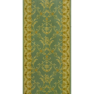 Rivington Rug Industry Fog Blue Runner Rug