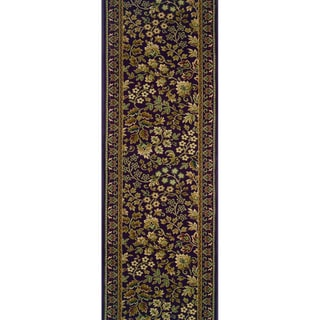 Rivington Vernon Shiraz Blue Runner Rug