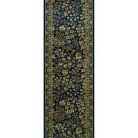 Rivington Vernon Boisenberry Blue Runner Rug