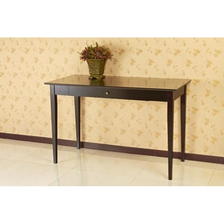 Espresso Finish Writing Desk with Drawer