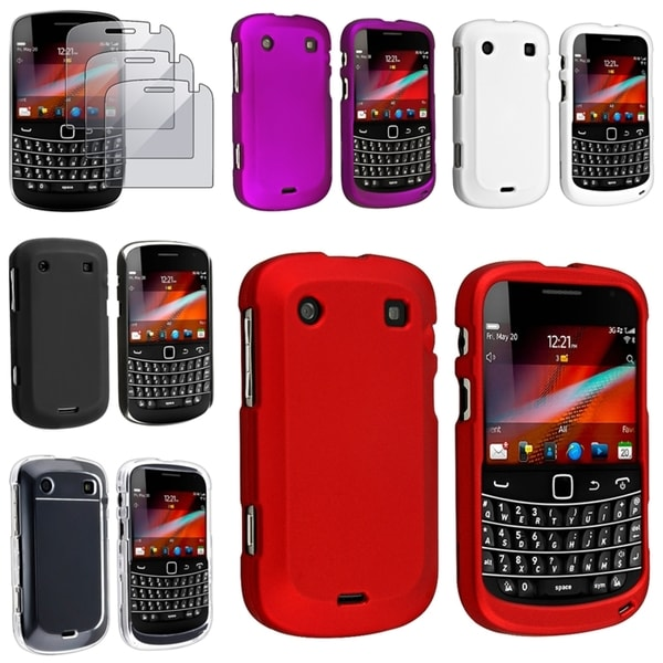 BasAcc Cases/ Screen Protector for BlackBerry Bold 9900/ 9930
