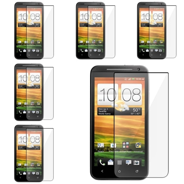 INSTEN Clear Screen Protectors for HTC EVO 4G LTE (Pack of 6)