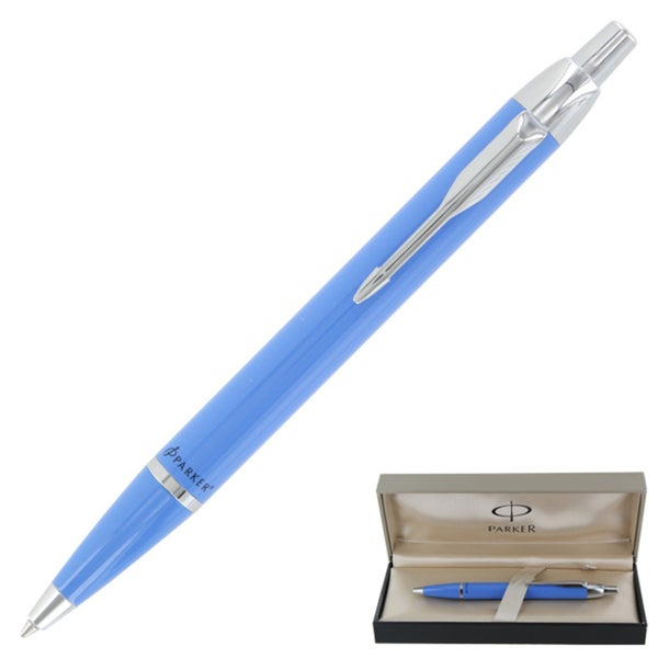 Parker IM Turquoise CT Retractable Ball Point Pen
