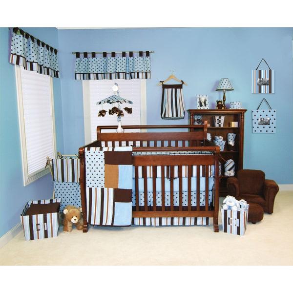 Trend Lab Max 5 Piece Crib Bedding Set Free Shipping