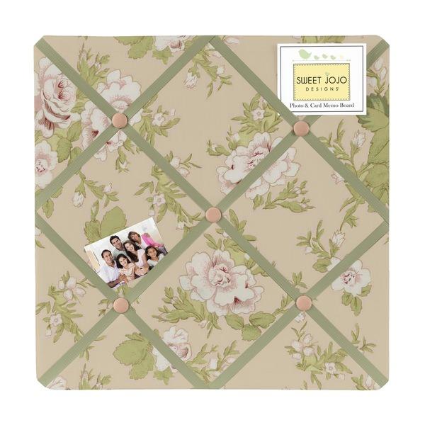 Sweet JoJo Designs Baby Annabel Fabric Bulletin Board