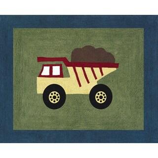 Sweet JoJo Designs Construction Zone Cotton Floor Rug