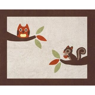 Sweet JoJo Designs Forest Friends Cotton Floor Rug