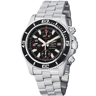Breitling Men's A1334102-BA81-162A 'Superocean Chronograph II' Chronograph Stainless Steel Watch