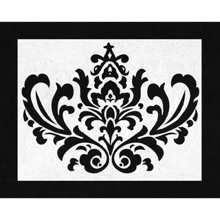 Sweet JoJo Designs 'Isabella' Damask Accent Floor Rug