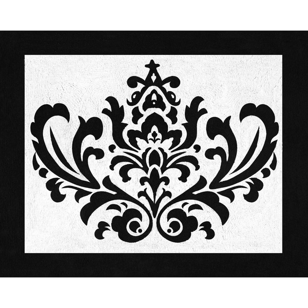 Shop Sweet Jojo Designs Isabella Damask Accent Floor Rug