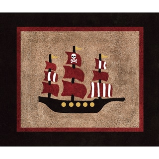 Sweet JoJo Designs Treasure Cove Cotton Floor Rug