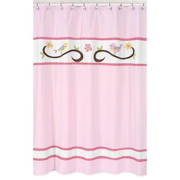 Song Bird Kids Shower Curtain