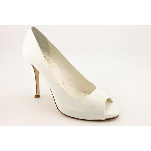 Bridal by Butter Women's 'Cleo' Ivory Basic Textile Dress Shoes