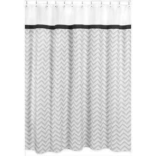Sweet Jojo Designs Zig Zag Shower Curtain