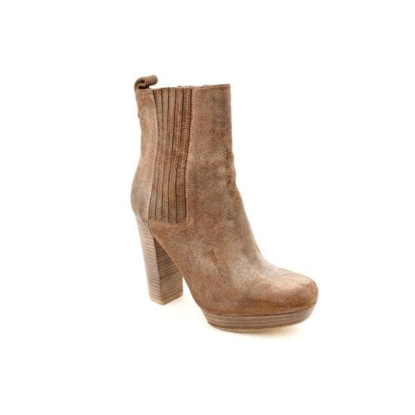 KORS Michael Kors Women's 'Benet' Leather Boots (Size 7.5)