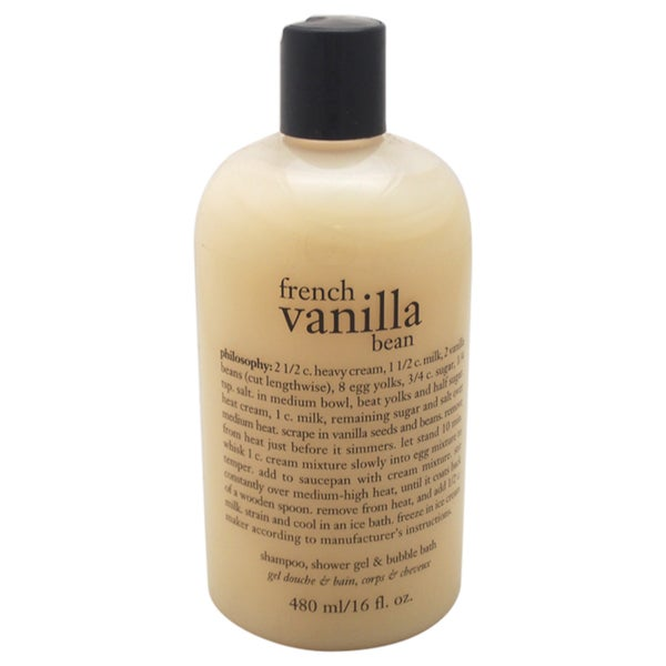 Philosophy French Vanilla Bean 16-ounce Shower Gel