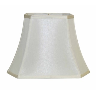 Off-white Silk Lamp Shade