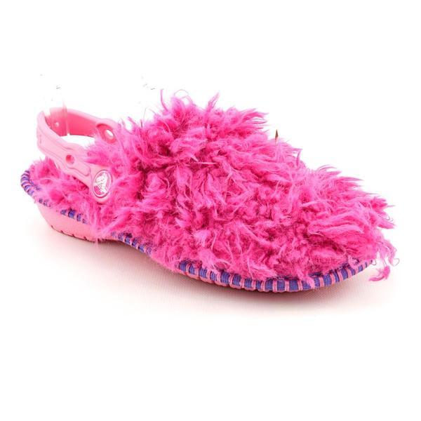 Crocs Girl's 'Cozycrocs The Thing' Man-Made Casual Shoes