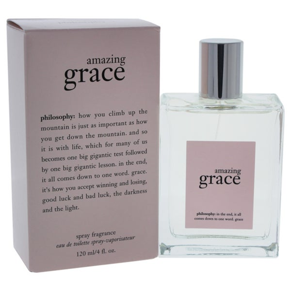 Shop Philosophy Amazing Grace Women S 4 Ounce Eau De Toilette Spray