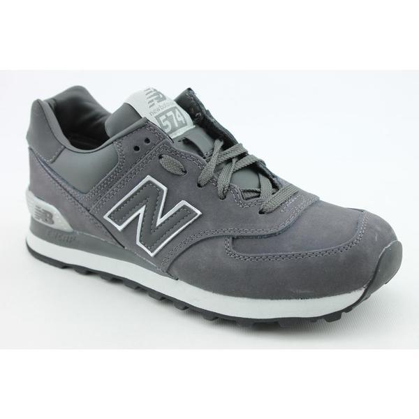 New Balance Men's 'ML574' Nubuck Athletic Shoes (7.5)