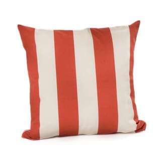 Chateau Designs Outdoor Striped Throw Pillow (20 x 20)