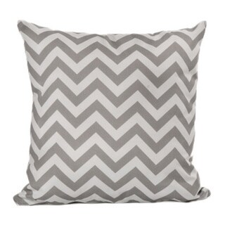 Chateau Designs Outdoor Chevron Throw Pillow (20 x 20)