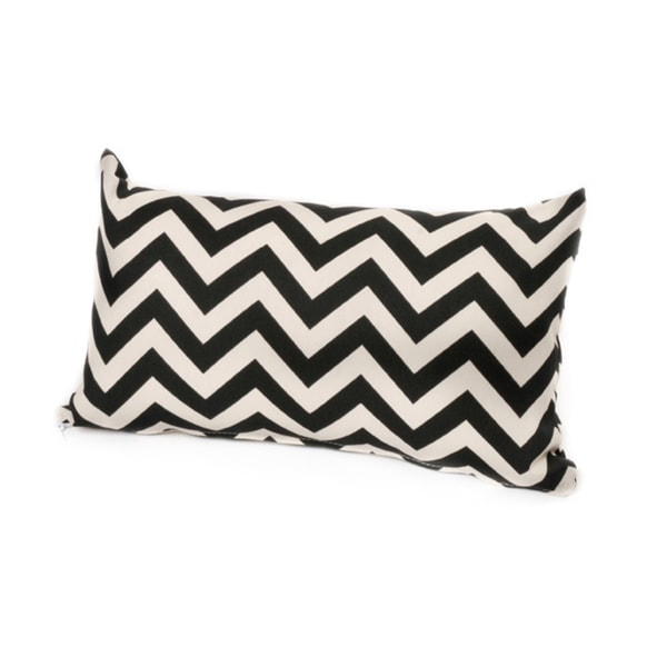 Chateau Designs Outdoor Chevron Lumbar Pillow (12 x 20)