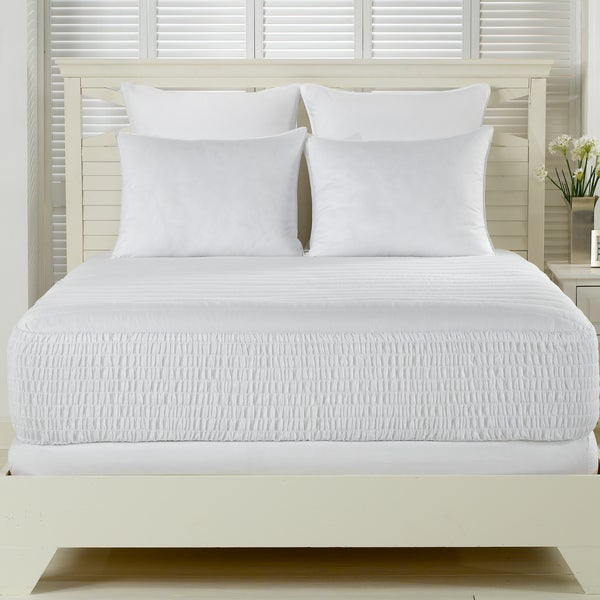 Beautyrest 300 Thread Count Premium Cotton Mattress Pad