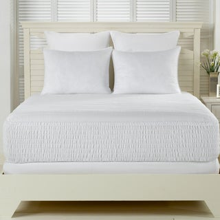 Beautyrest 300 Thread Count Long Staple Cotton Mattress Pad