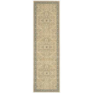 Riviera Sand Wool Blend Rug (2'3 x 8')