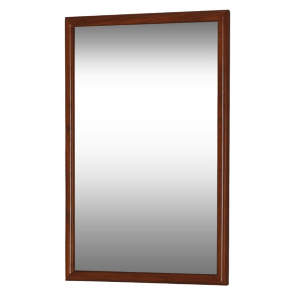 mahogany bathroom mirror dreamline framed mahogany bathroom mirror free shipping 13569