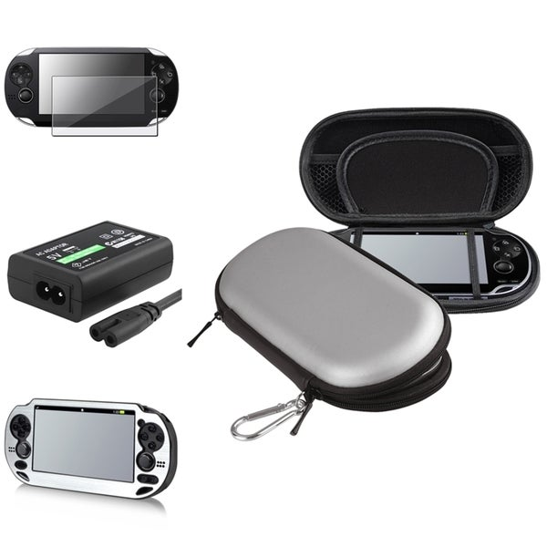 INSTEN Case Covers/ Screen Protector/ Adapter for Sony PlayStation Vita