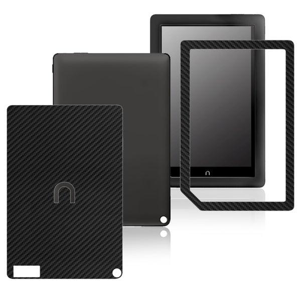 INSTEN Carbon Fiber Black Decal Sticker for Barnes & Noble Nook HD+