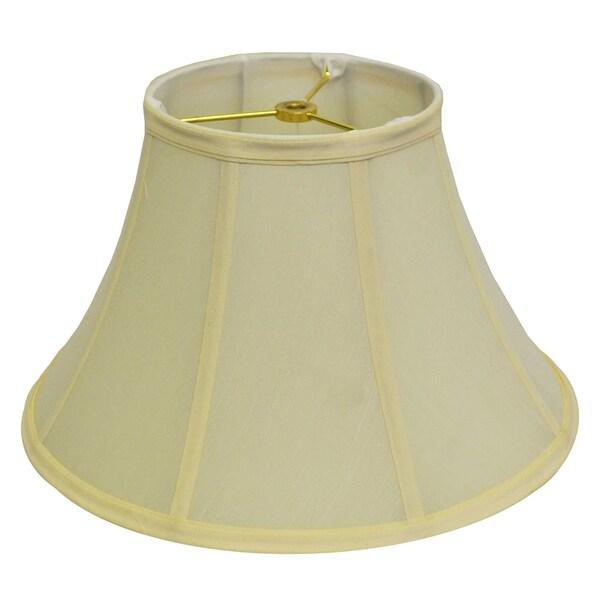 Round Beige Bell Silk Lamp Shade