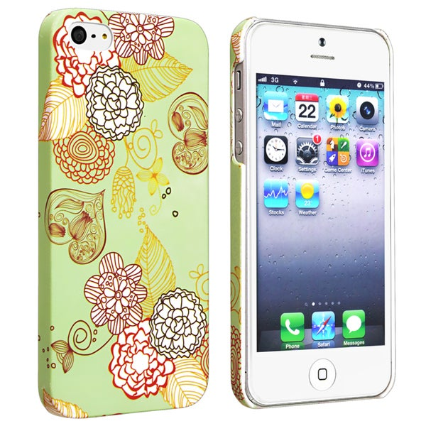 BasAcc Flower Rear Style 29 Case for Apple iPhone 5