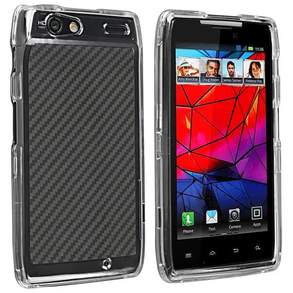 BasAcc Clear Snap-on Crystal Case for Motorola Droid Razr XT910/ XT912