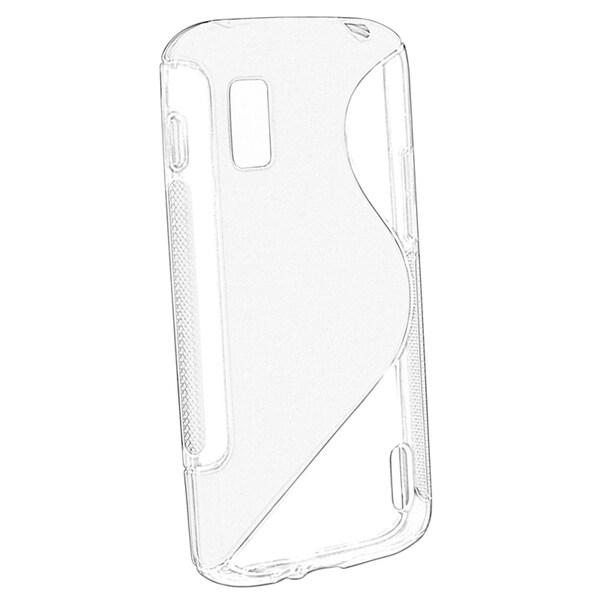 BasAcc Clear S Shape TPU Case for LG Nexus 4 E960