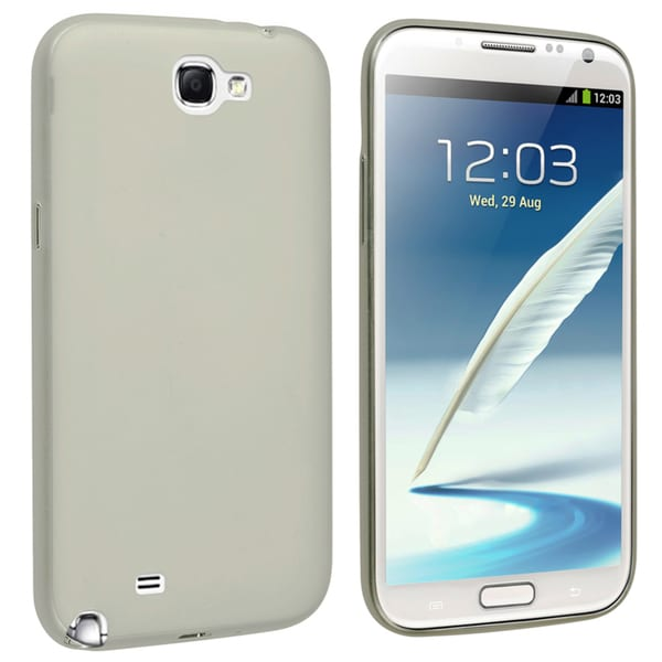 BasAcc Smoke Snap-on Slim Case for Samsung Galaxy Note II N7100
