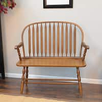 Shop Winston Antique Black Bench Free Shipping Today
