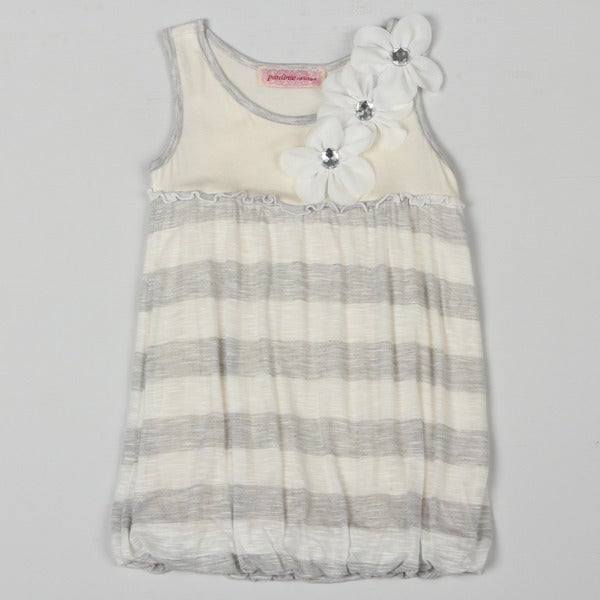 Paulinie Collection Girl's Striped Bubble Dress