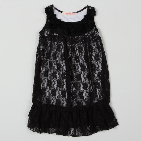 Paulinie Collection Girls Lace Tunic
