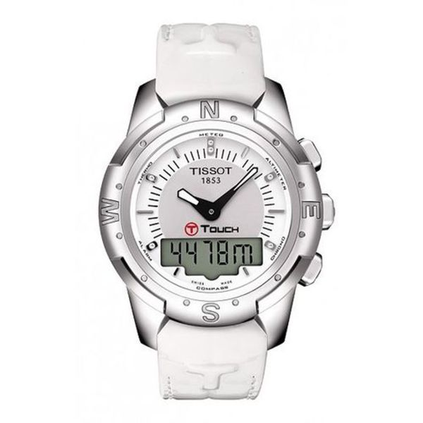 Shop Tissot Women s T-Touch II Titanium Watch - Free Shipping Today -  Overstock - 7604189 fe2d3ff34
