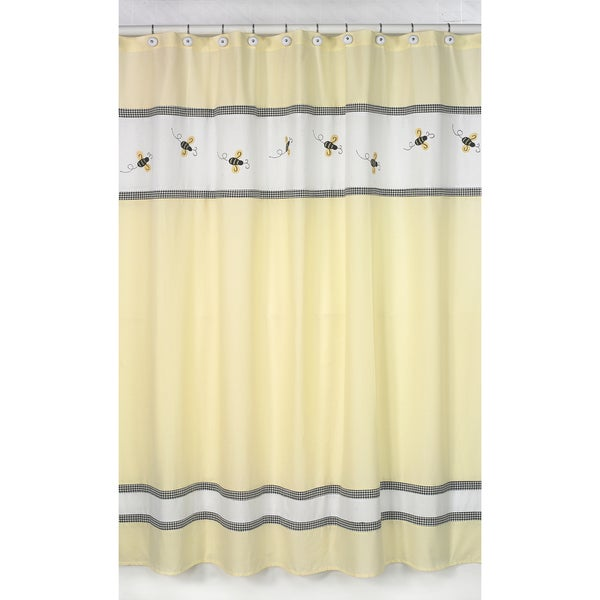 Shop Bumble Bee Shower Curtain Free Shipping On Orders