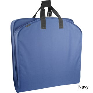 Wally Bags 40-inch Suit-Length Garment Bag with Handles (Option: Navy)