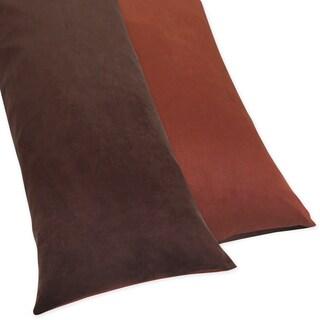 Dinosaur Full Length Double Zippered Body Pillow Case Cover by Sweet JoJo Designs