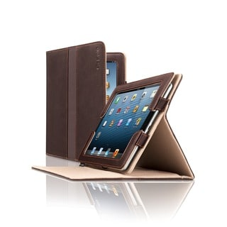 Solo Vintage Colombian Leather Booklet iPad Case
